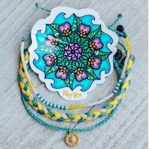 Puravida Sunflower 🌻 August Bracelet Pack